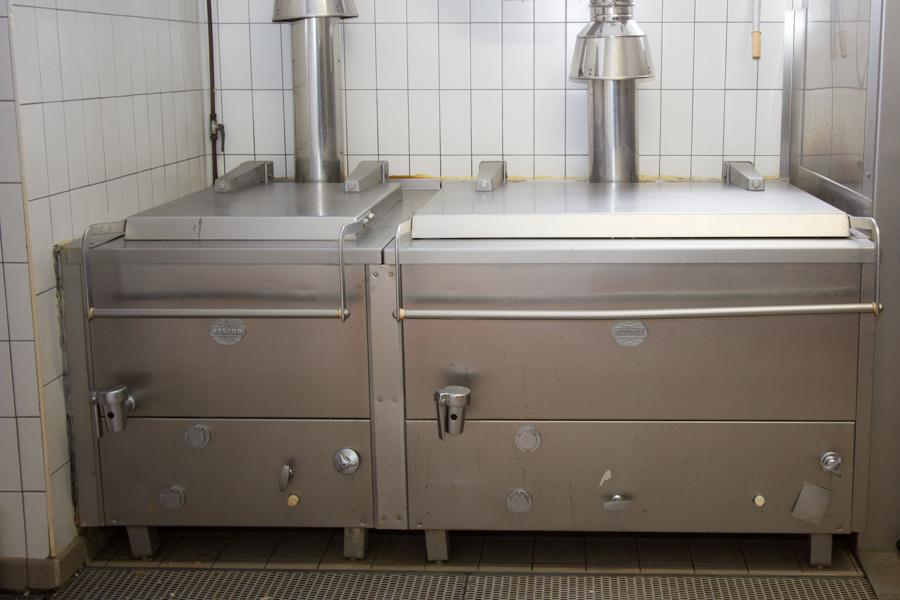 Die Kochkesselanlage